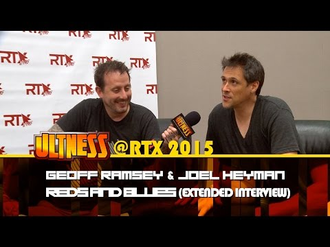ULTNESS @RTX 2015 – GEOFF RAMSEY & JOEL HEYMAN: REDS AND BLUES Extended
