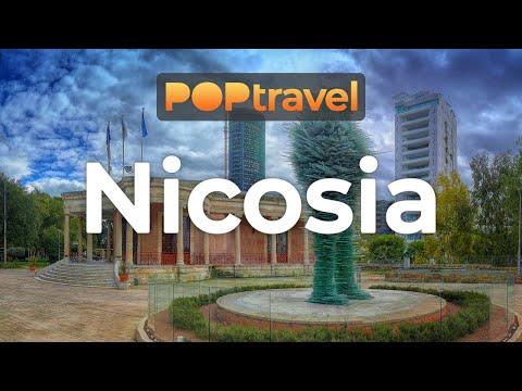 Walking in NICOSIA / Cyprus - 4K 60fps (UHD)