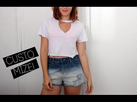 c96e0b222 DIY! Como customizar camisetas básicas em croppeds - duas ideias ...