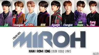 [OT8 VER] Stray Kids (스트레이 키즈) - MIROH Color Coded [Han|Rom|Eng] Lyrics