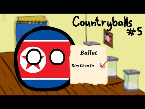 Countryballs #5 | Выборы в Северной Кореи | Elections in North Korea