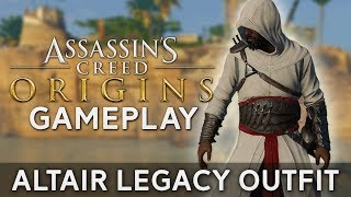 Assassin's Creed Origins | Altair Legacy Outfit - Gameplay