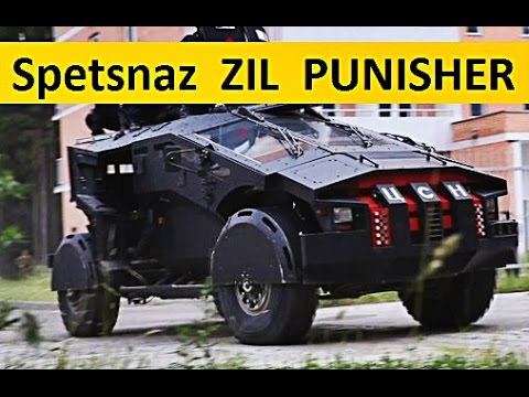 Secret Spetsnaz Armored Battle Vehicle Zil Punisher In