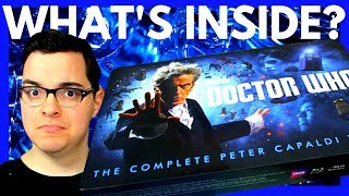 Doctor Who The Complete Peter Capaldi Years Blu-ray Box Set Review!
