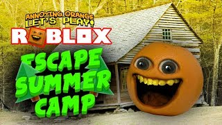 Roblox: Escape Summer Camp [Annoying Orange Plays]