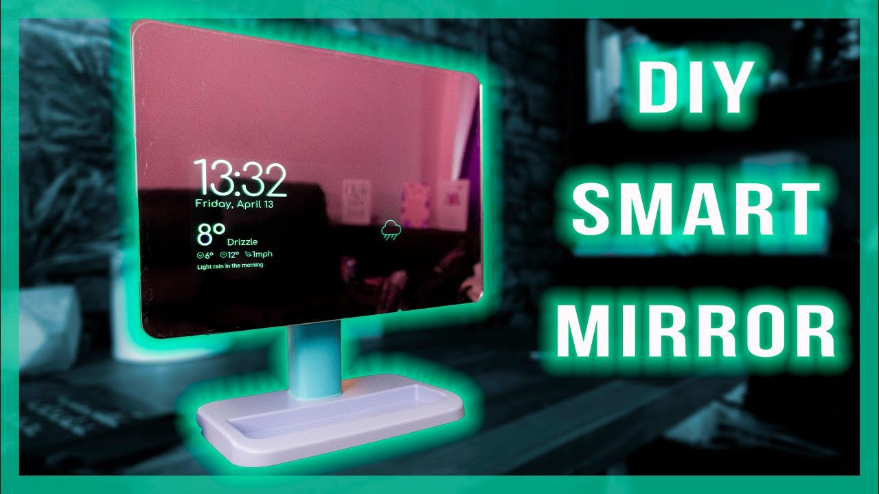 make a smart mirror from an old tablet youtube rh youtube com