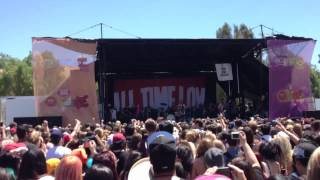 Vans Warped Tour 2012 All time low- Weightless