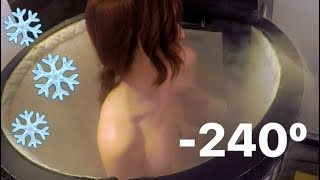Cryotherapy - I froze my whole body!