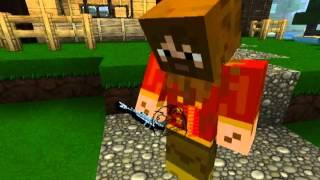 Minecraft Сказка о золотой рыбке