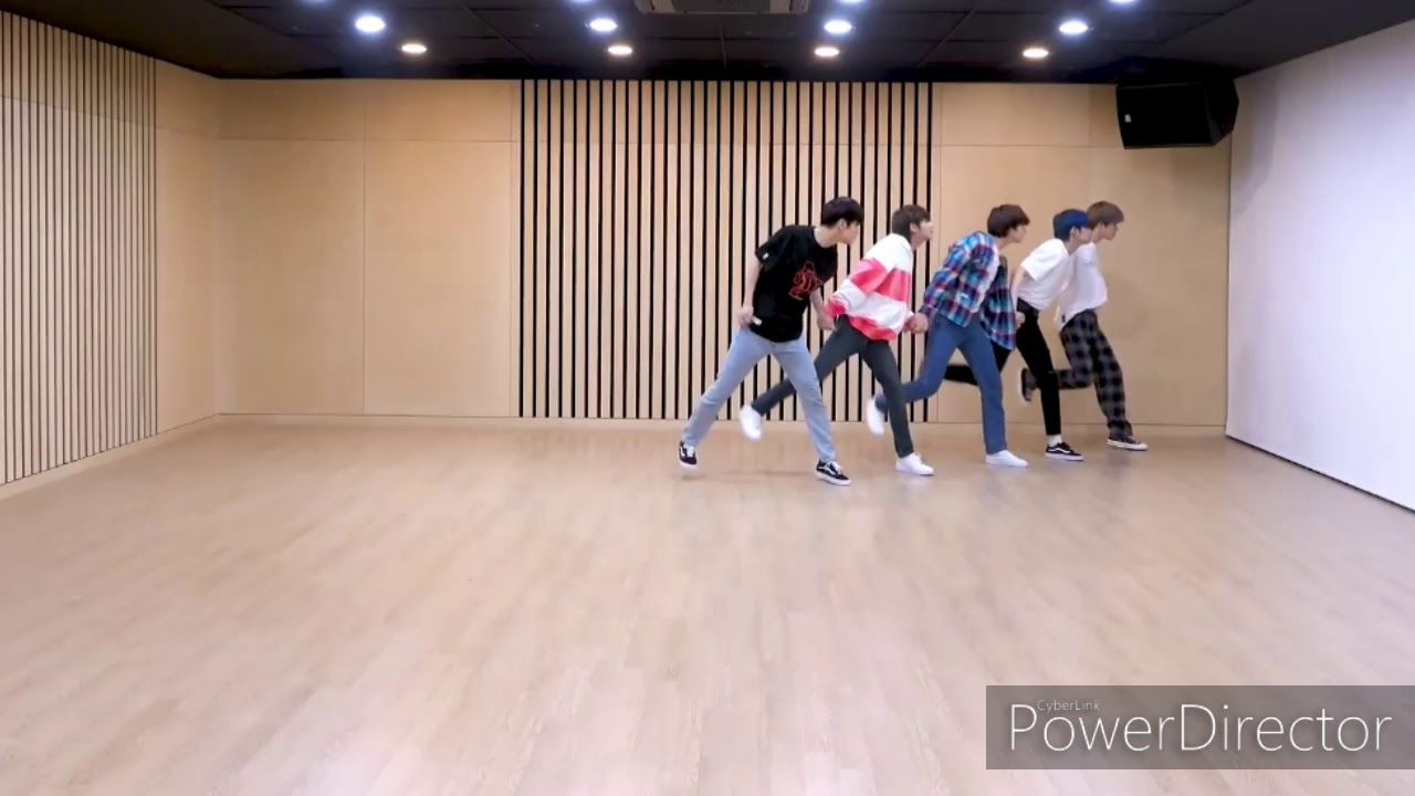 TXT - 《Run Away》鏡面放大版 Dance mirror enlarged version