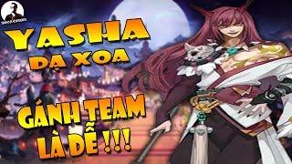 Onmyoji Arena - Chia sẻ cách chơi YASHA gánh team 😈 cực đơn giản mà hiệu quả