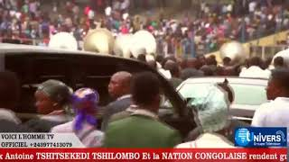 JOURNEE NATIONALE D'ACTION DE GRACE SON EXELENCE Felix Antoine TSHITSEKEDI TSHILOMBO Et la NATION CO