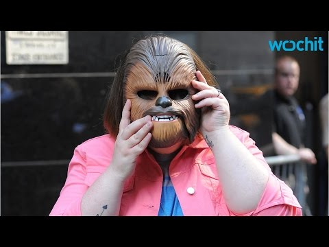 Actor Peter Mayhew Suprises Chewbacca Mom