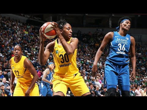 Fantastic Finsh: Sparks and Lynx Go Head-To-Head In 2018 Opener!