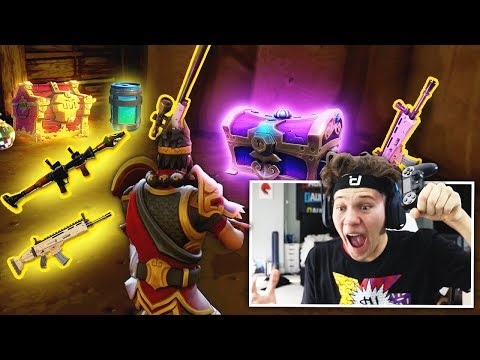 I FOUND THE GREATEST CHEST EVER *UNREAL LOOT* Fortnite: Battle Royale