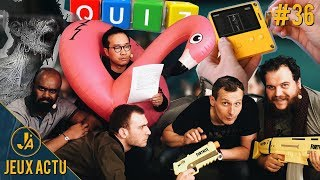 Une console portable à manivelle, Darkwood le Hotline Miami horrifique, l'après GoT - JEUXACTU #36