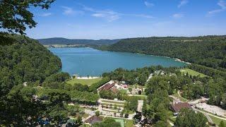 Camping Domaine de Chalain - Lac de Chalain, Jura, Frankreich