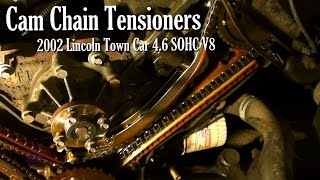 Fun with Ford 4.6 SOHC V8 Cam Chains - 2002 Lincoln Town Car