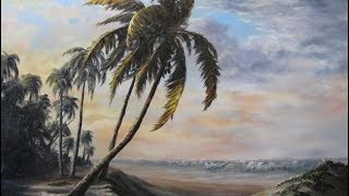 Paint with Kevin Hill - Sunlit Palm