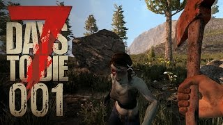 7 Days to Die [001] [Zurück in der Apokalypse] Let's Play Gameplay Deutsch German thumbnail