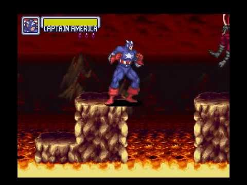 SNES Longplay [207] Marvel Super Heroes - War of The Gems