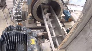Prueba Transportador Gusano de Descarga de Molino RECMAT