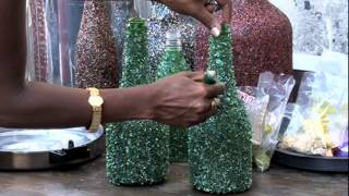 How to recycle wine bottles to make treasure out of trash