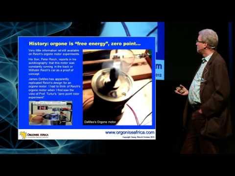 Orgone Energy. A breakthrough that has already happened  GLOBAL BEM conference Nov 2012