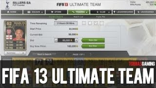 FIFA 13 Ultimate Team - Webapp Release Date Announced!