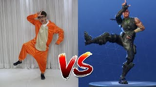 FORTNITE DANCE CHALLENGE IN REAL LIFE Part 2! SACHIN SACHAN