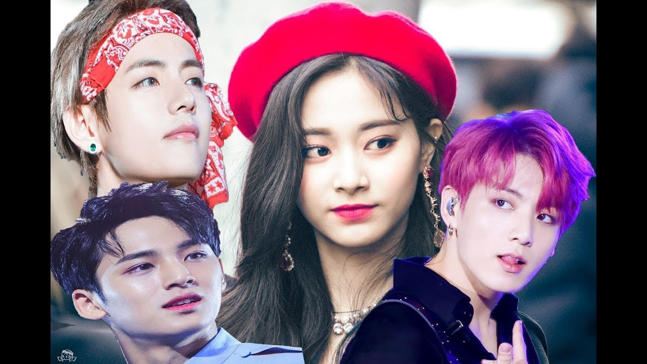 TOP 3 TWICE TZUYU SHIP WITH BTS V & JUNGKOOK &SEVENTEEN MINGYU | WHO`S  REAL