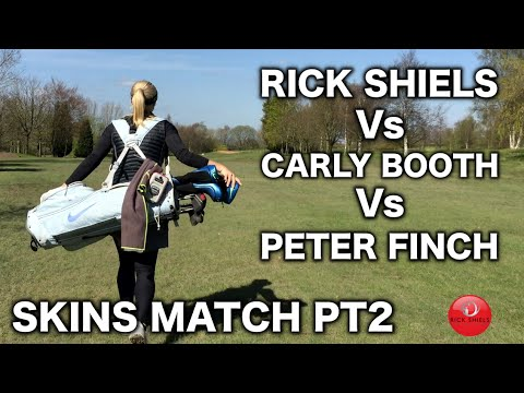 SKINS MATCH PART 2 - RICK Vs CARLY Vs PETER