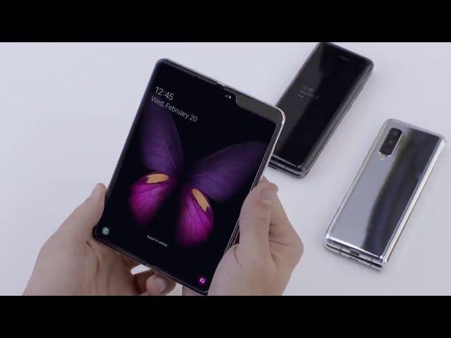 Samsung Galaxy Fold Hands On - Its SENSATIONAL