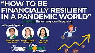 How To Be Finan¢ially Resilient In A Pandemic World | Your Money Matters EP21