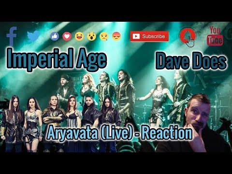 Imperial Age - Aryavarta (Live) - Dave Does Reaction