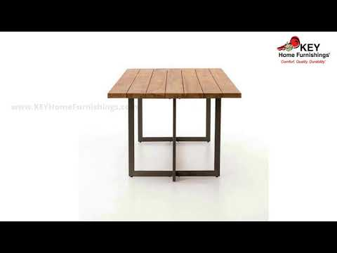 Four Hands Tanner Outdoor Dining Table JLAN-192 | KEY Home