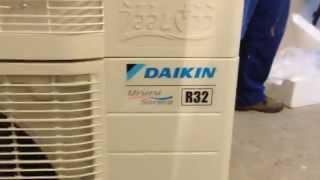 Daikin FTXZ-N/RXZ-N. Обзор, Установка кондиционера(, 2015-02-07T09:10:08.000Z)