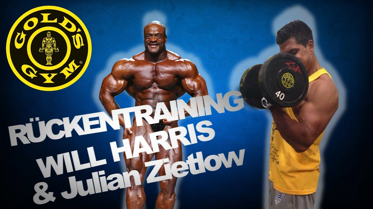 Rückentraining Will Harris Und Julian Zietlow Youtube