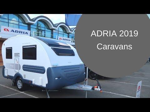 Adria Caravans 2019 - First Look