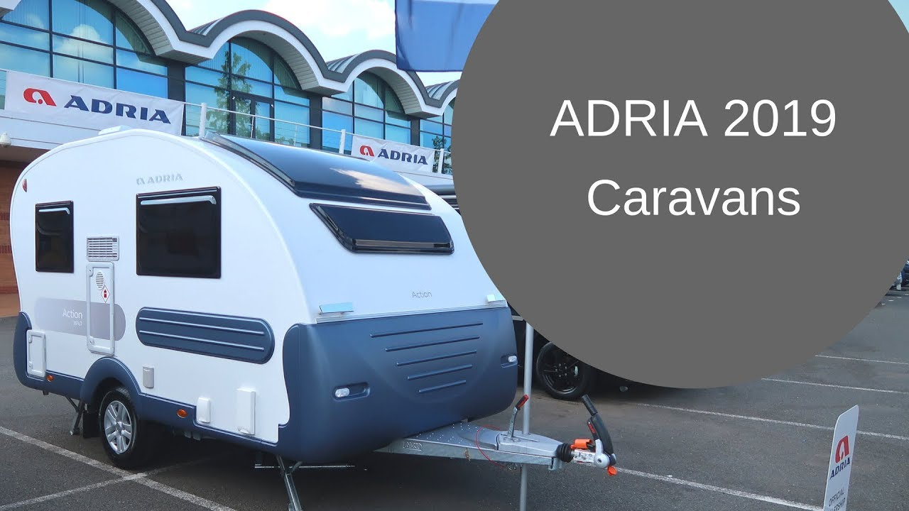Adria Caravans 2019 - First Look
