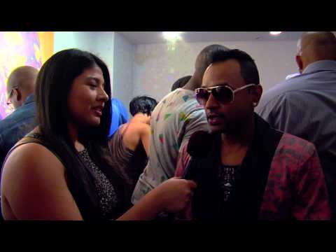 Interview with Eric Santiago at the VMA Moonman Celebrity Lounge