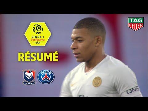 SM Caen - Paris Saint-Germain ( 1-2 ) - Résumé - (SMC - PARIS) / 2018-19