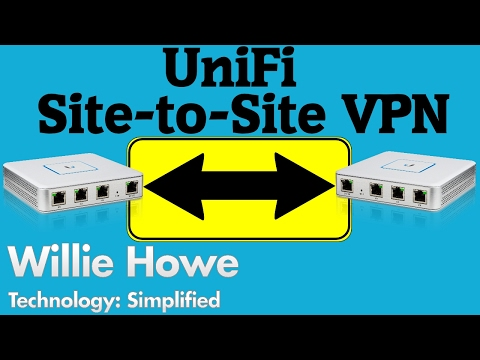 UniFi Site-to-Site VPN