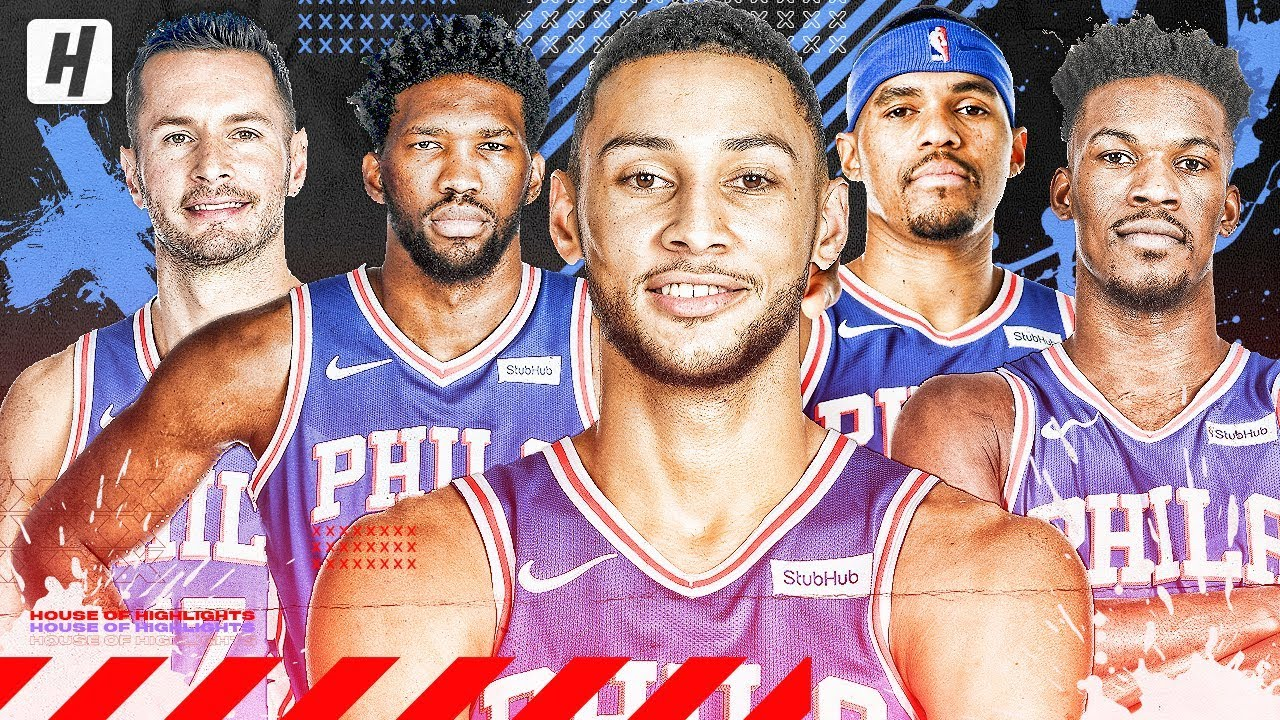 Philadelphia 76ers Very Best Plays Highlights From 2018 19 Nba Season Youtube