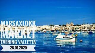 #сидимдома Мальта 2020. Марсашлокк. Воскресная ярмарка. Вечерняя Валлетта