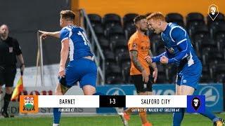 Barnet 1-3 Salford City - The National League 30/10/18