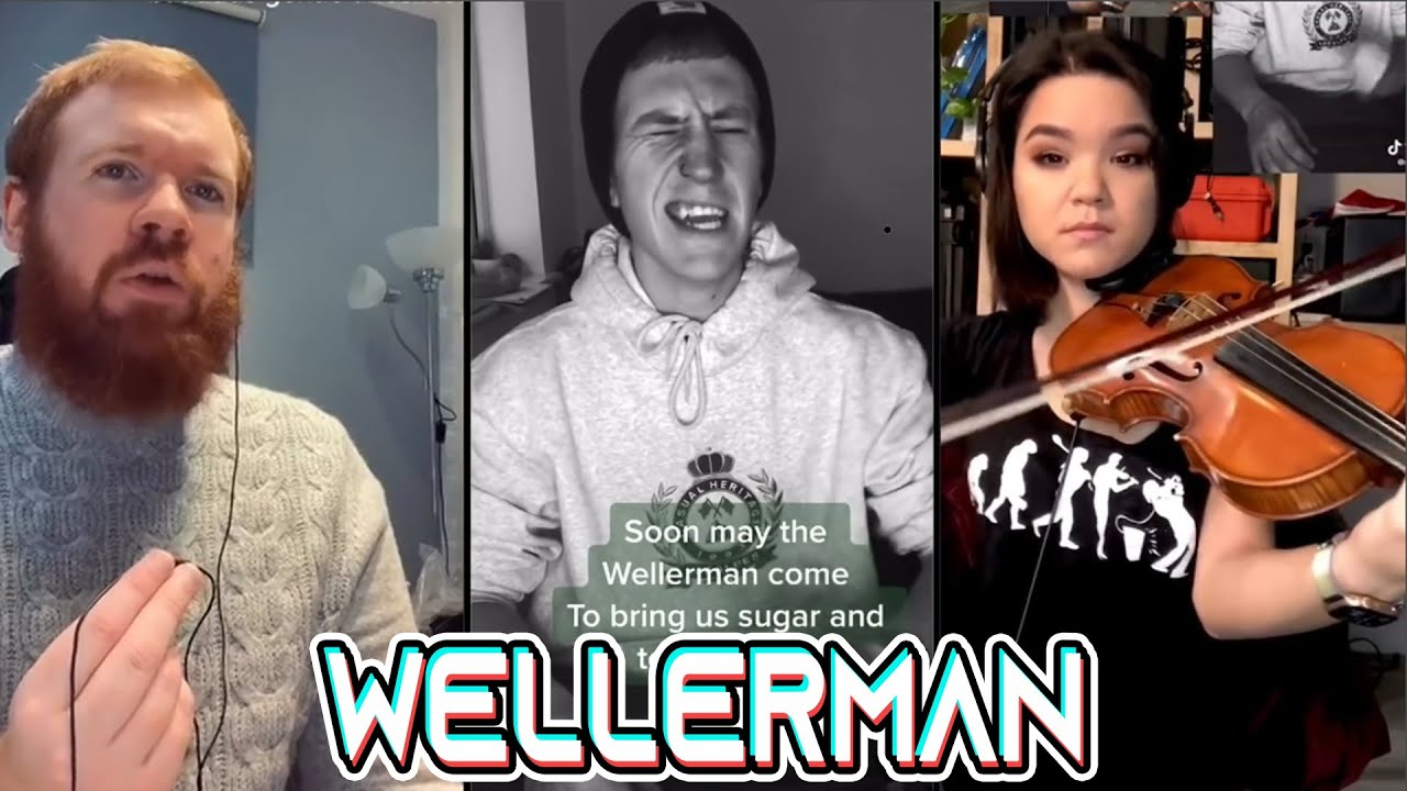 Wellerman TikTok Song Compilation - Soon may the Wellerman come TikTok
