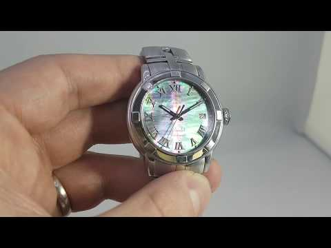 C2005 Raymond Weil Parsifal Men's Watch With Mother Of Pearl Dial