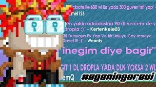 Growtopia - Arkadaşıma 90 DL verdim ! (#EgeninGörevi)