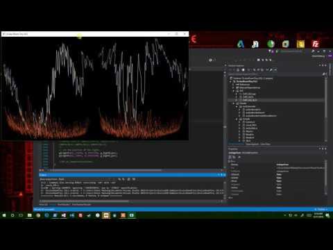 oculus vr audio visualizer music sndpeek demo